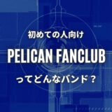 【PELICAN FANCLUB】初心者におすすめしたい必聴の入門曲5選!
